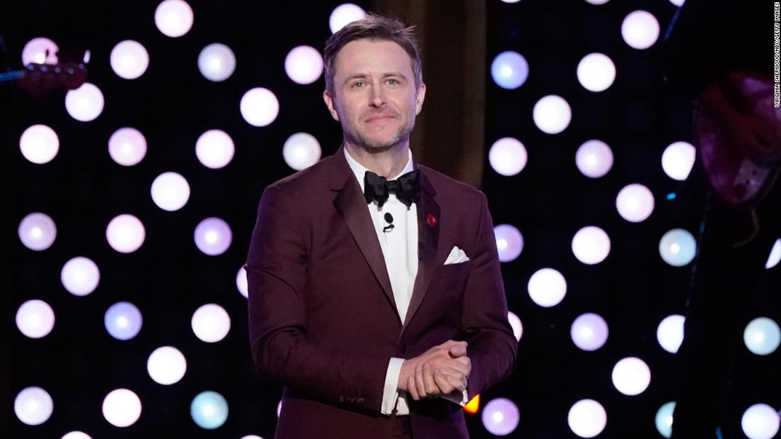 AMC suspends Chris Hardwick talk show after ex-girlfriend makes allegations of abuse