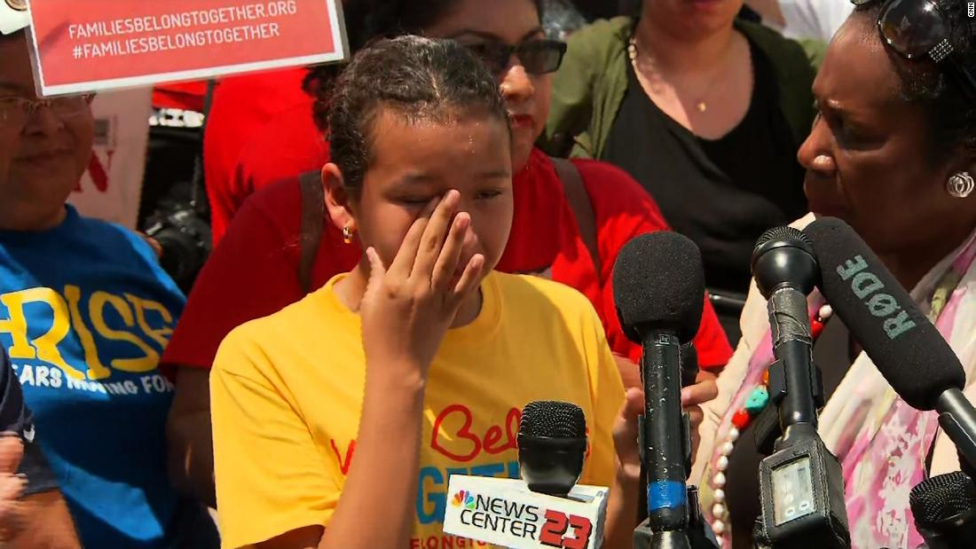 Young girl to separated kids: Stay strong