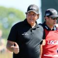 Phil Mickelson US Open round four