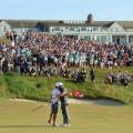 Brooks Koepka US Open win 18th green