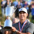 Brooks Koepka US OPen trophy