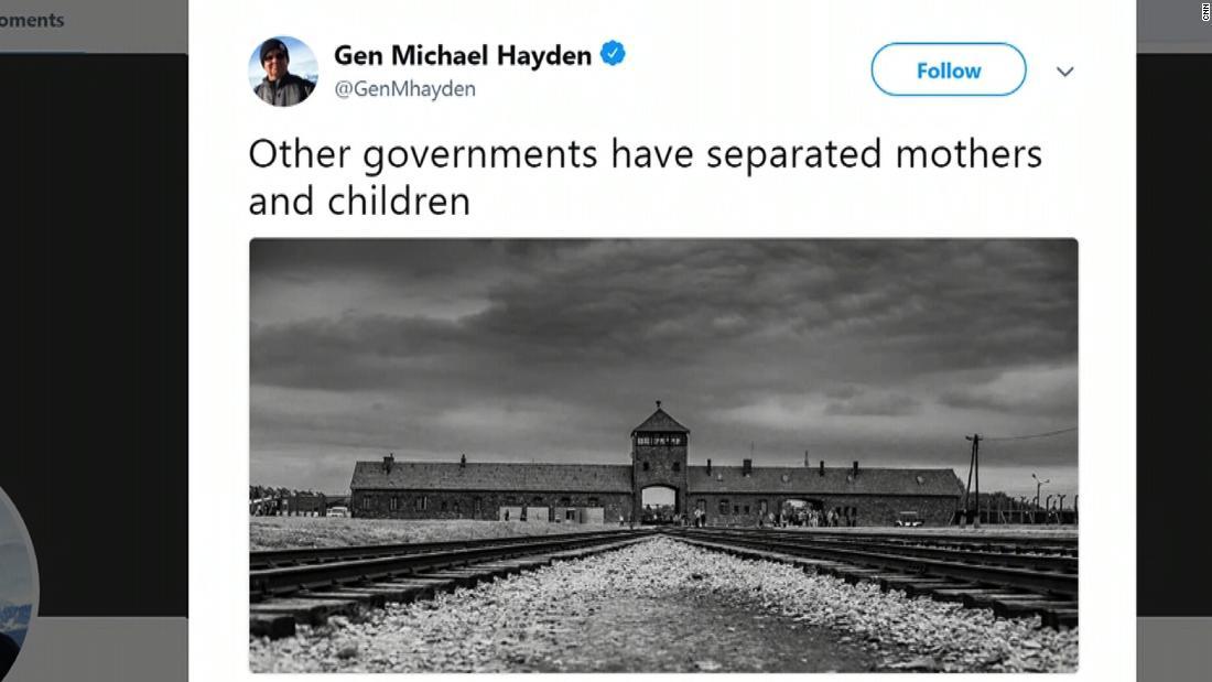 Ex-CIA chief compares family separations to Nazis - CNN Video