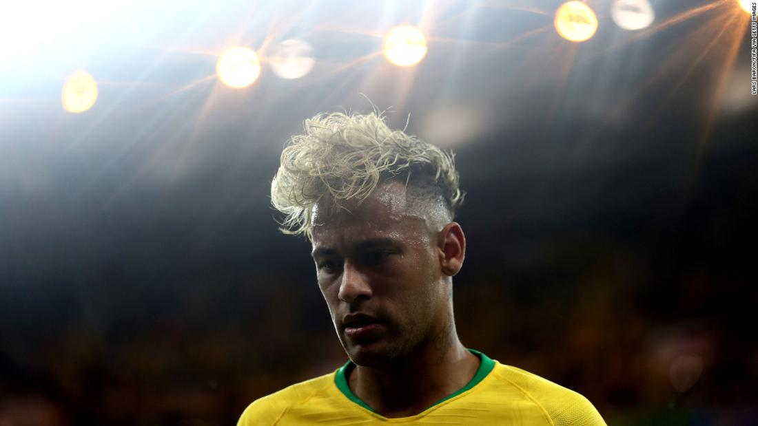 Brazilian star Neymar recently came back from a foot injury.