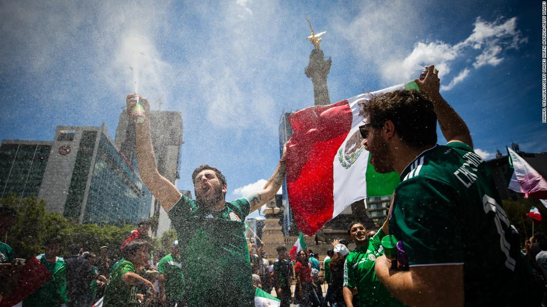 Did World Cup goal celebration trigger an 'artificial earthquake' in Mexico?
