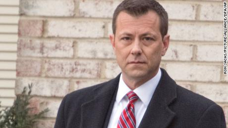 FBI Agent Peter Strzok in Fairfax, Virginia on Wednesday, January 3, 2018. Ron Sachs / CNP