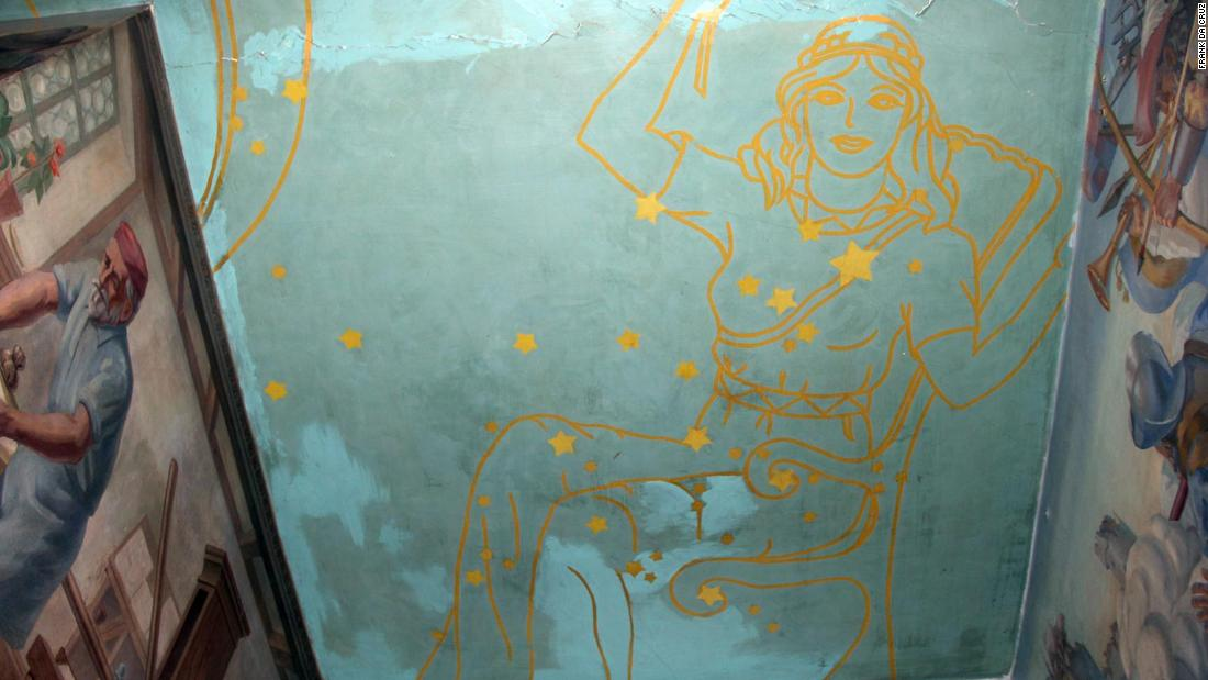 A historic decades-old mural was painted over at a New York high school during a repair project