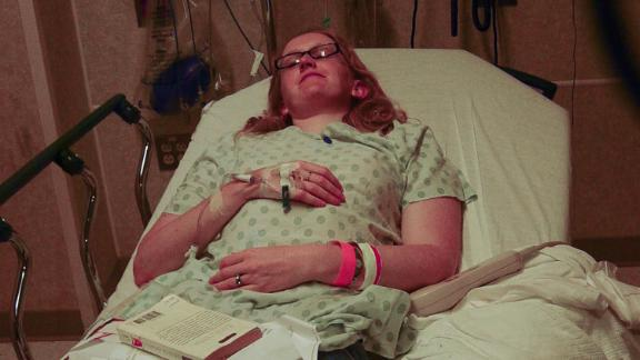 """""""I was bedridden and my GI tract had stopped working. I was getting weird, stabbing pains all over my body,"""" Stiles said."""