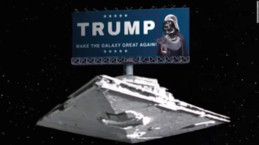 Internet mocks Trump's Space Force