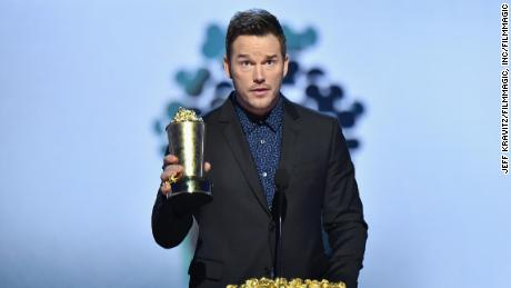 Chris Pratt at the MTV Movie & TV Awards