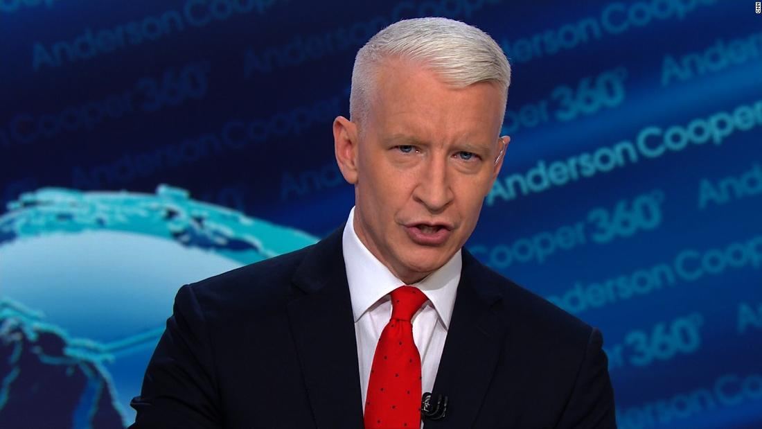 Cooper calls out Trump for shifting blame