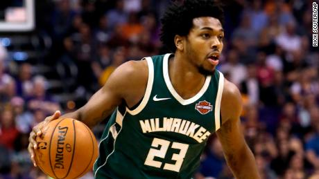 Sterling Brown was drafted out of Southern Methodist University with the 46th pick in the 2017 NBA Draft.