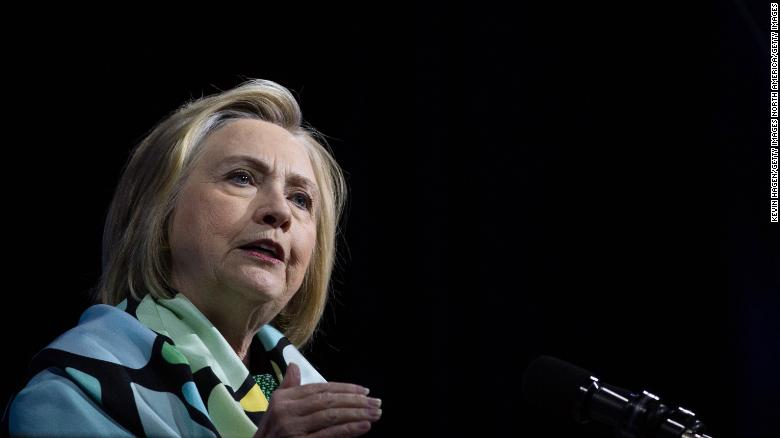 Hillary Clinton warned in a newspaper interview that migration is being used as a wedge by populist politicians.