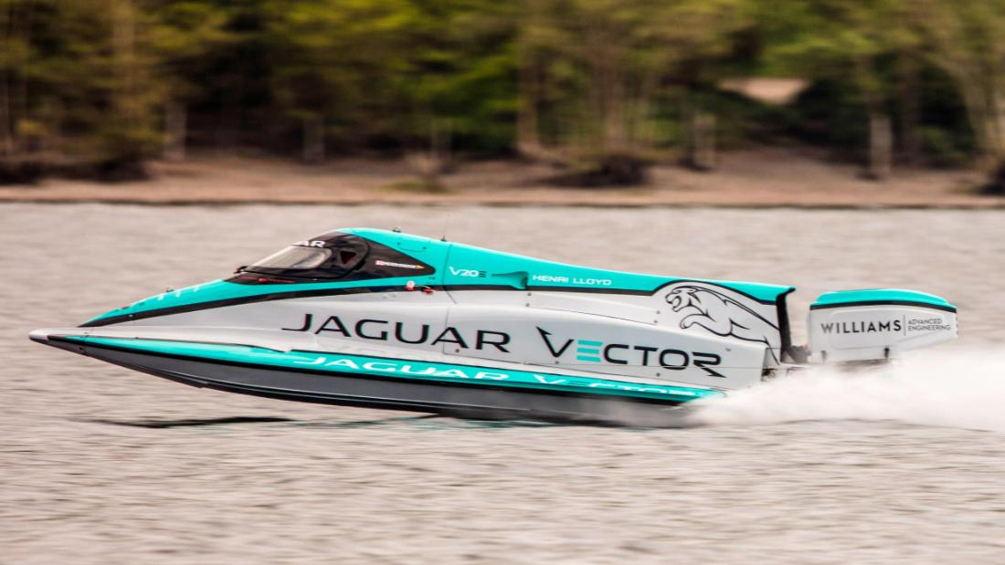 A battery-powered boat broke a decade-old world record last week, speeding into history on a British lake.