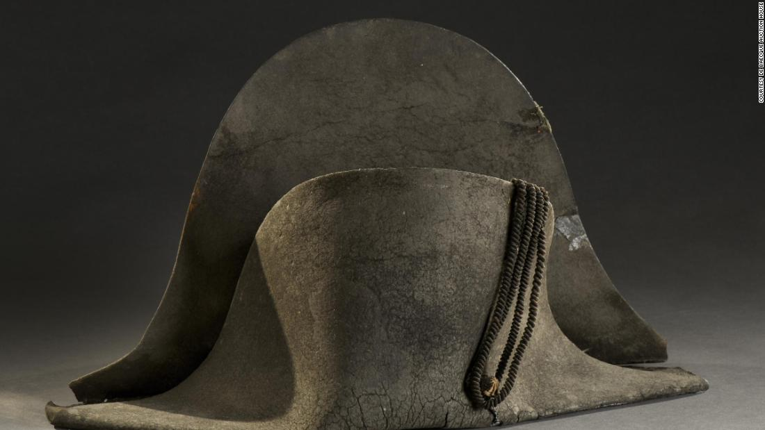 napoleon s hat from waterloo sells for over 400 000 at auction