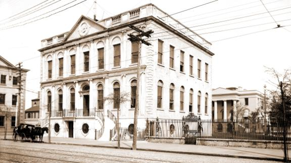 The Charleston City Hall circa 1890