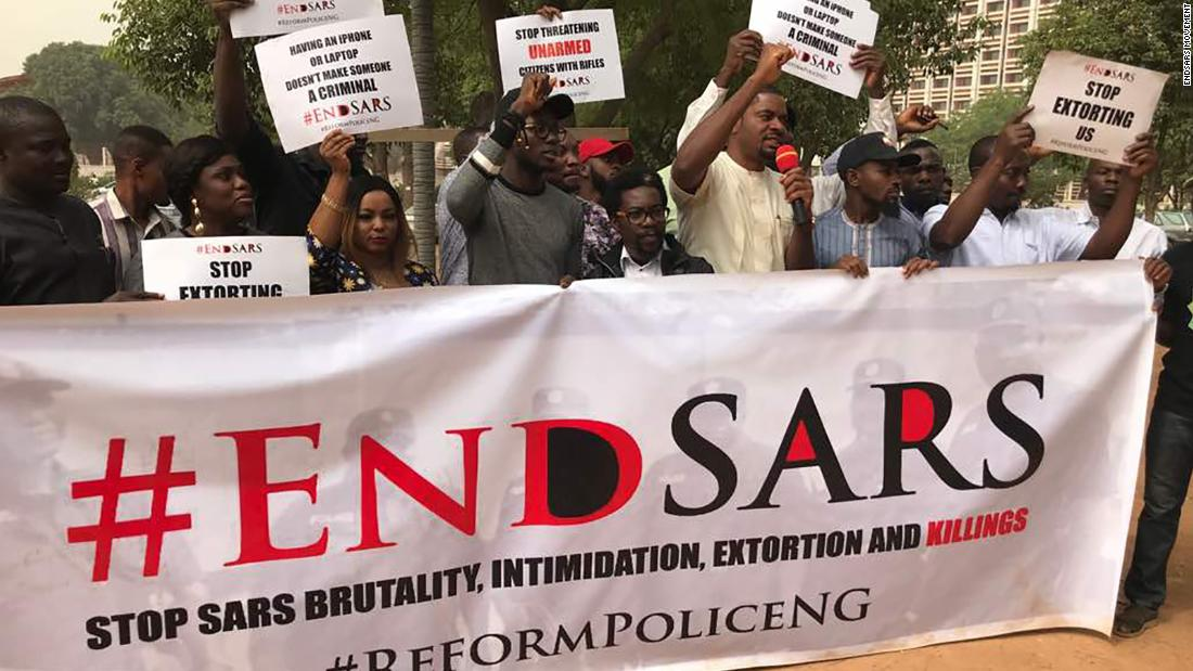 Nigeria's tech community launches a campaign against alleged police harassment - CNN