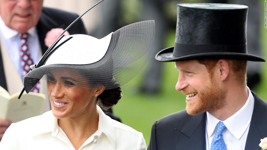The Duke and Duchess of Sussex arrived at Royal Ascot in a horse-drawn carriage, part of the famous royal procession that begins each day of racing at the Berkshire course west of London. The prestigious event is the jewel in the crown of the British Flat racing calendar.
