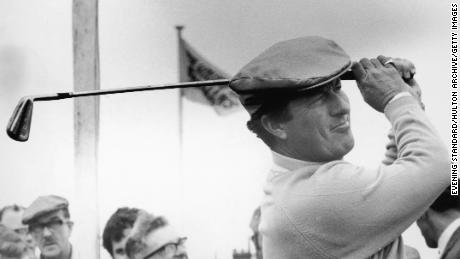 Australian golfer Peter Thomson won five British Open titles, including three in a row.