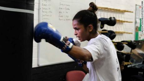 The refugee boxer tearing down barriers