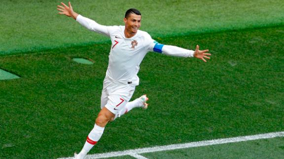 Cristiano Ronaldo scored the only goal in Portugal