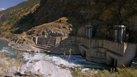 Bhutan generates hydropower from its mountain streams.