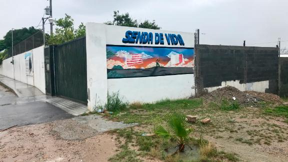 The Senda de Vida shelter in Reynosa, Mexico, housed about 50 migrants on Wednesday.