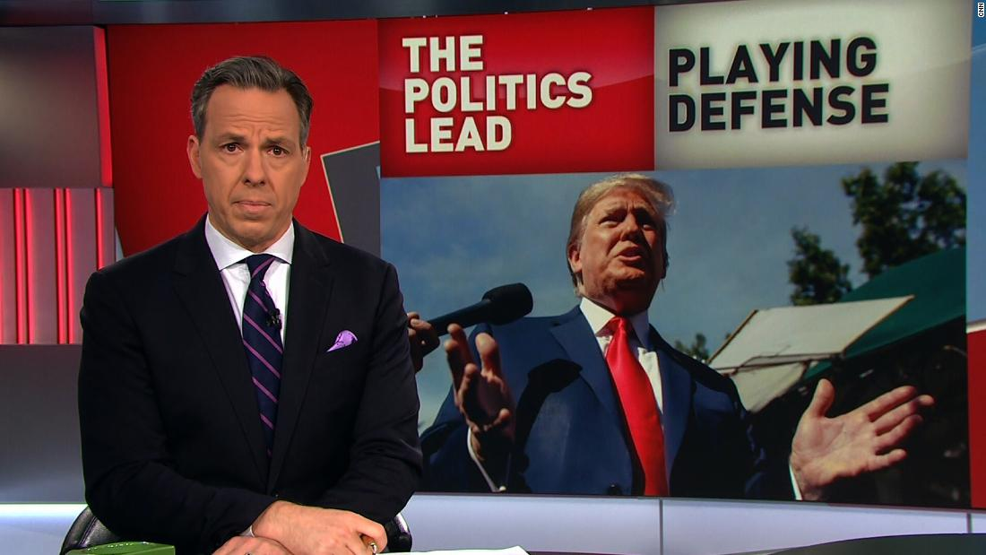 Tapper: Trump surrendered for the first time