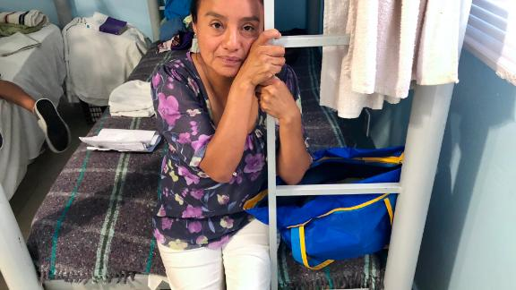Dolores Contreras Alarcon, 40, says she will try to cross the border again