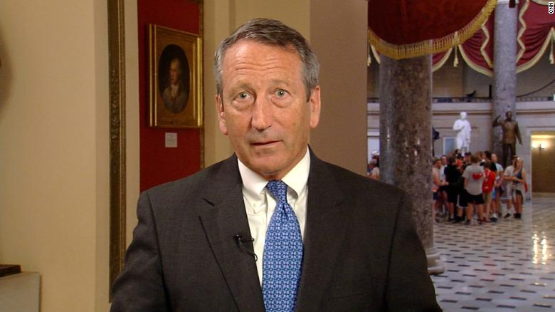 Rep. Sanford responds to Trump mocking him in front of colleagues