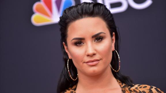 Singer/songwriter Demi Lovato attends the 2018 Billboard Music Awards 2018 at the MGM Grand Resort International on May 20, 2018, in Las Vegas, Nevada (Photo by LISA O'CONNOR / AFP)