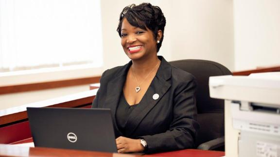 Court Clerk Tiffany Kinslow