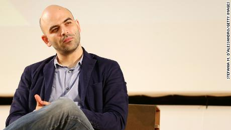 Roberto Saviano has been very critical of Matteo Salvini's anti-immigration stance.