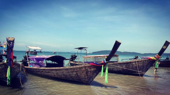 """Thailand: From thumping Phuket, yachts push east into Phang Nga Bay and the Andaman Sea to explore this unspoiled region dotted by technicolor coral reefs, remote fishing villages and honey pots such as Maya Bay, the Phi Phi islands and James Bond Island -- which provided a backdrop for """"The Man With the Golden Gun."""""""