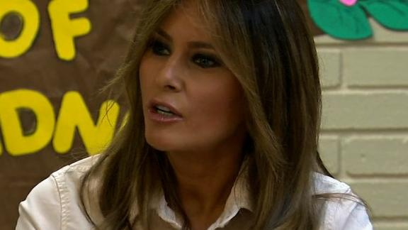Melania Trump visits detention center in Texas