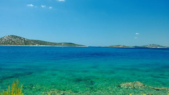 """Croatia, Kornati Islands: This Adriatic gem features historic towns, smart marinas, isolated anchorages and deserted islands in one neat package in the northern Mediterranean. The remote Kornati National Park is an unspoiled oasis -- so stunning, in fact, it moved author George Bernard Shaw to write that God created the islands """"out of tears, stars and breath."""""""