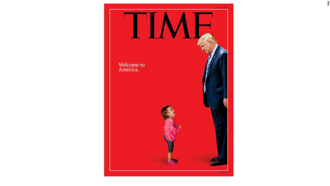 A child's anguish meets America's indifference on new TIME cover - CNN