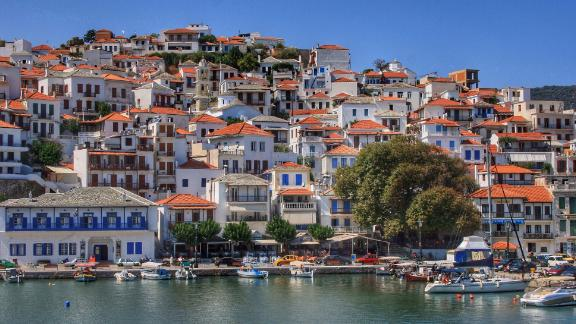 Greece, Skopelos: The Sporades area north of Athens offers exhilarating sailing, remote anchorages and attractive towns such Skopelos, film set for Mama Mia.