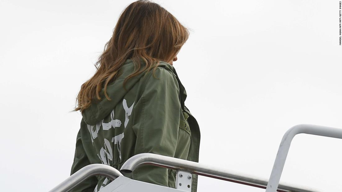 Melania dons jacket saying 'I really don't care. Do U?' ahead of border visit – Trending Stuff