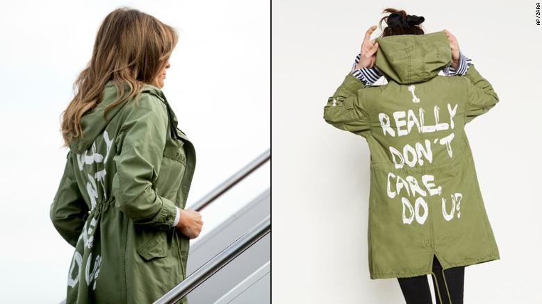 Melania Trolling Trump