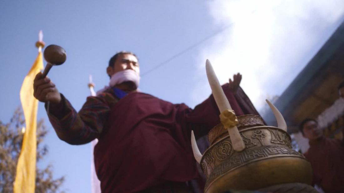 Bourdain in the spiritual heartland of Bhutan