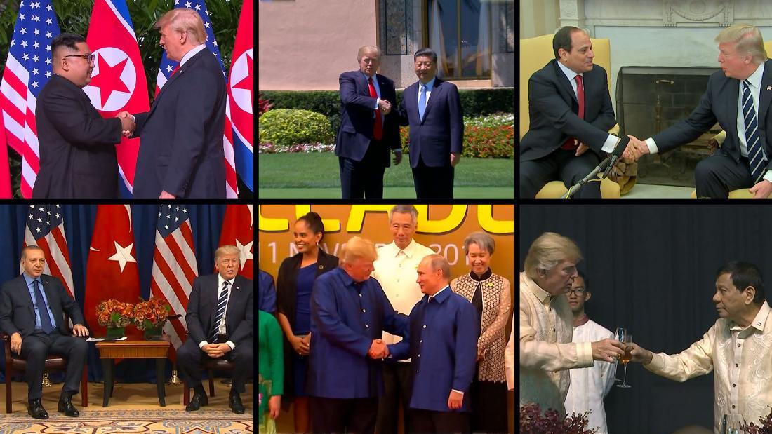 15 times Donald Trump praised authoritarian rulers