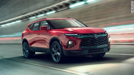 New Chevy Blazer >> See The All New Chevy Blazer