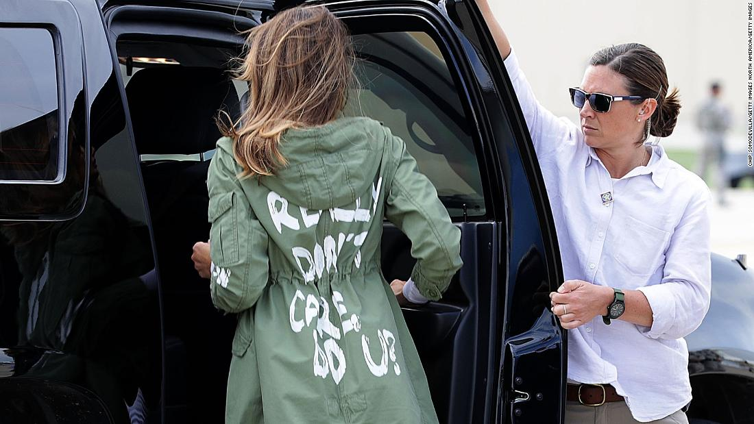 Image result for melania i don't really care