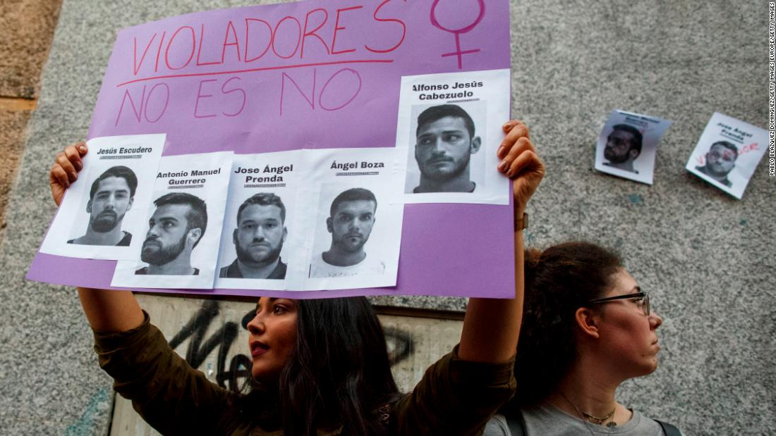 'Wolf Pack' found guilty of rape by Spain's Supreme Court