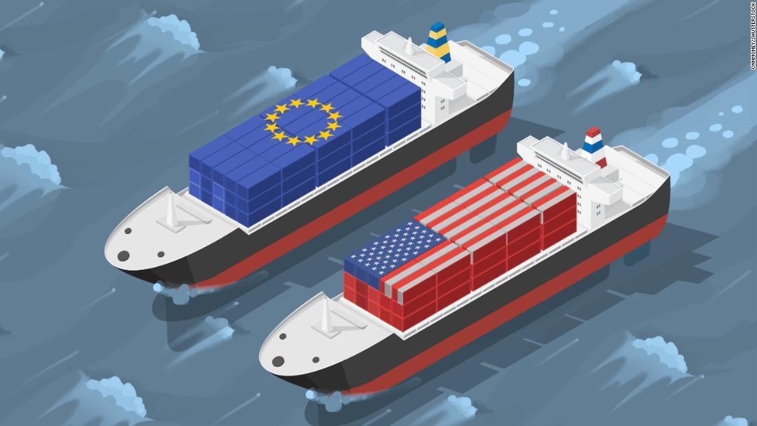 Take that, America. Europe's tariffs take effect