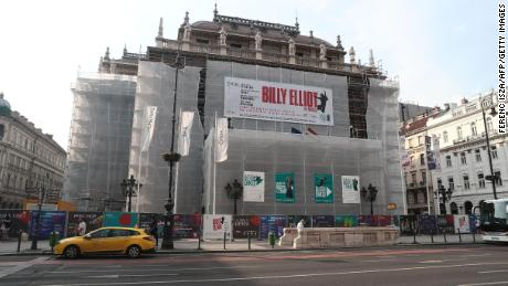 "The Hungarian National Opera in Budapest has cut 15 performances of  the musical ""Billy Elliot."""