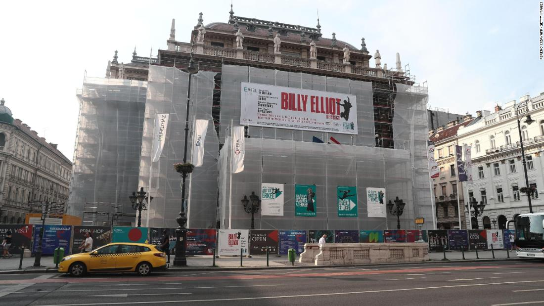 Some 'Billy Elliot' shows canceled in Hungary