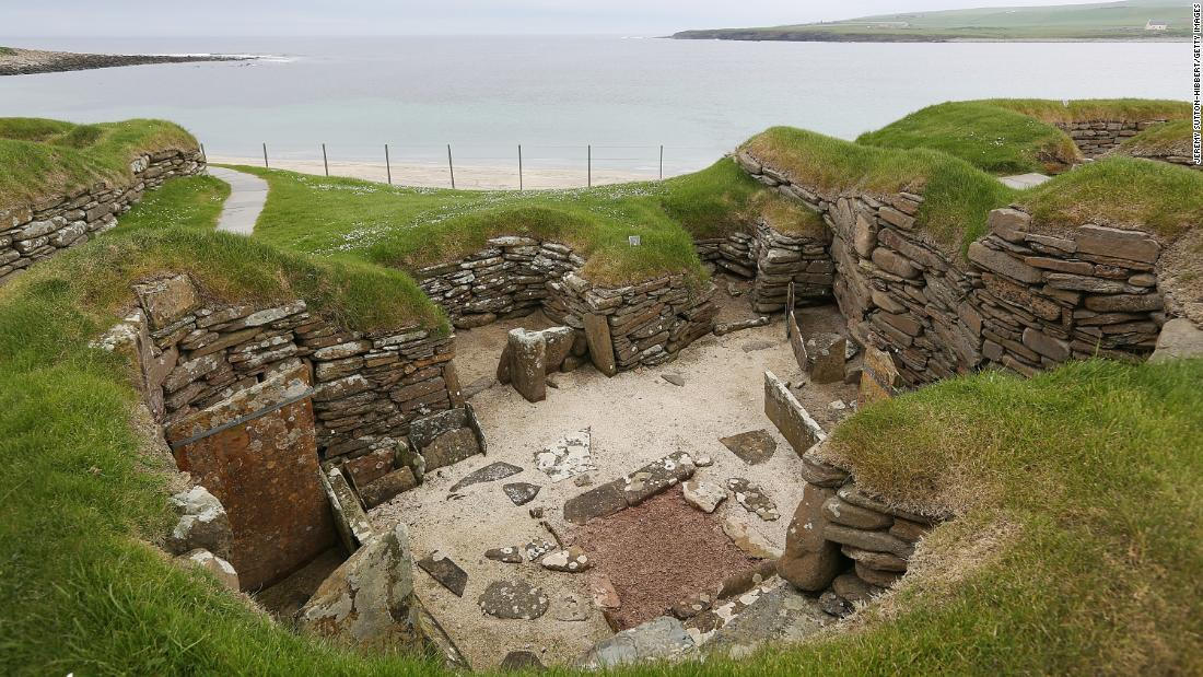 Some of the balls were found in the remarkably preserved Neolithic settlement of Skara Brae, in the Orkney Islands, off the northern coast of Scotland.