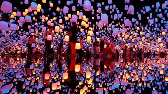 Tokyo: A new museum specializing in digital art opened in Tokyo in June. TeamLab