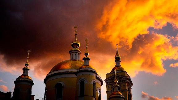 Podolsk, Russia: Russia produced plenty of spectacular moments in June as it hosted the World Cup, including this dramatic sunset in Podolsk, near Moscow.